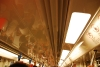 学生报到的日子,车厢内挤满了从火车站上车的人