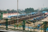 中华门地铁站远眺南京南站