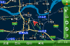过丹阳之后加速中的一段(地图)